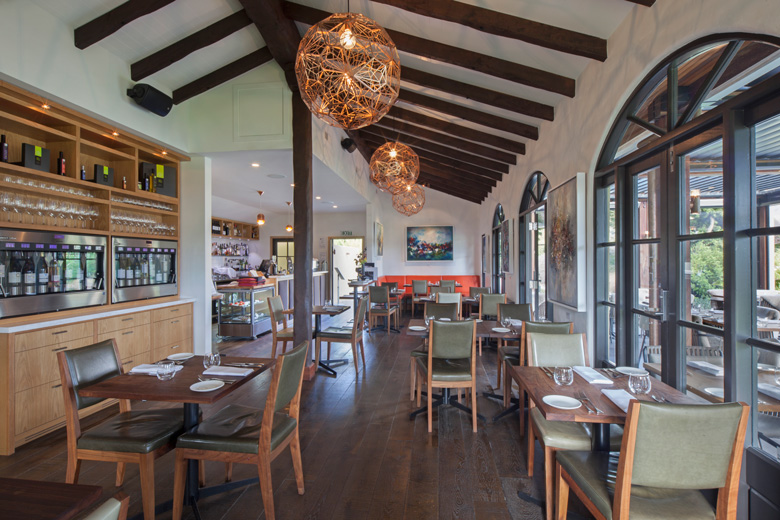 A picture of the Bistro Gentil dinning area