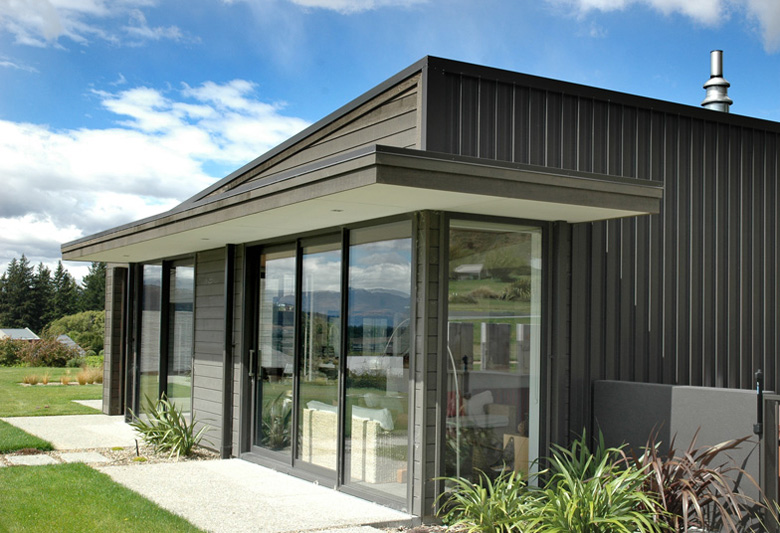 Image of home's sliding glass doors