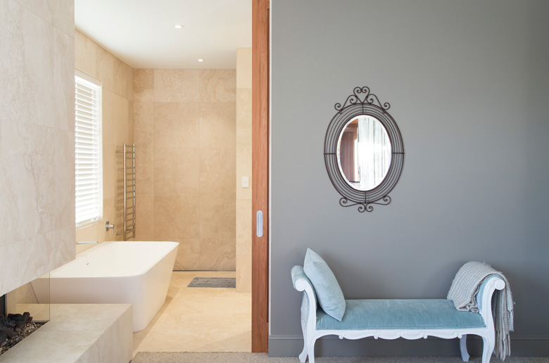 Image of bath tub and couch