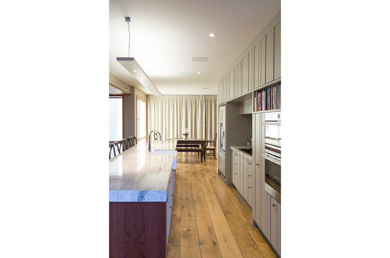 Picture of kitchen looking through to dining table