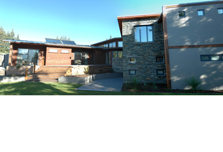 Image of client's house on Lucy's Way Wanaka