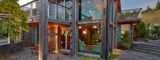 Photo fo client's house at Sunrise Bay Wanaka