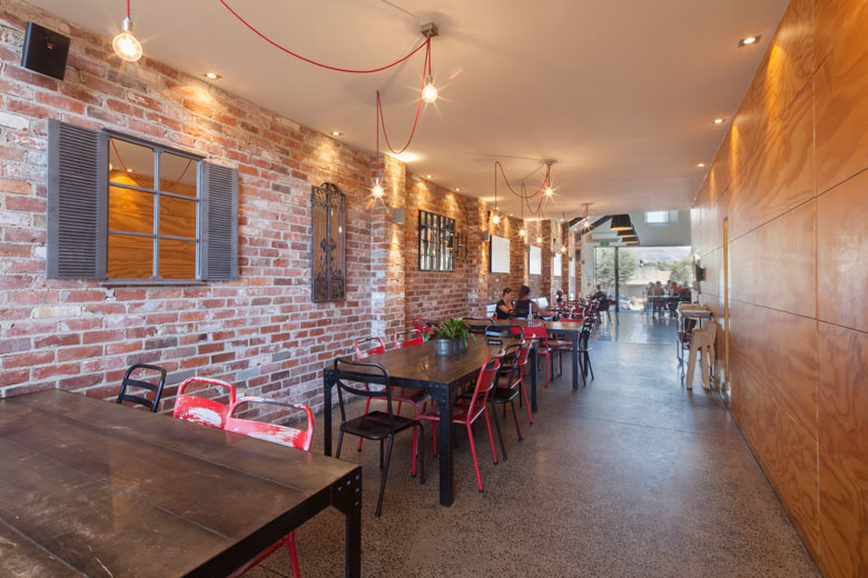 Picture of the main dining area at Urban Grind Wanaka