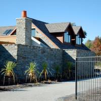 Photo of Waimana Place house's entry gateway