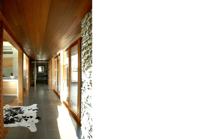 Looking down home's hallway in Waimana Place, Wanaka