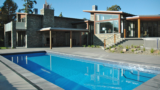The lucy's Way house pool