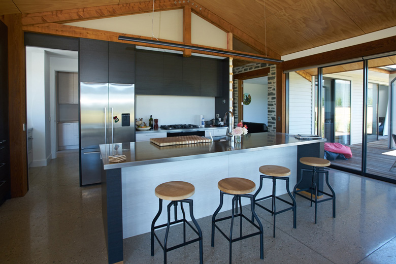 Image of kitchen in Te Anau house