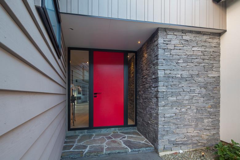 Image of red door