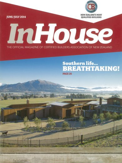In House magazine cover