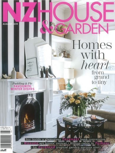 NZ Housr & Garden magazine cover